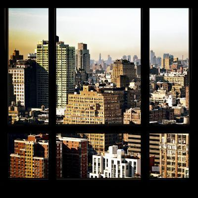View from the Window - Manhattan Architecture-Philippe Hugonnard-Photographic Print
