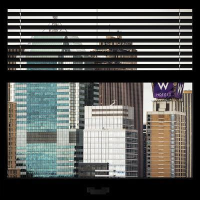 View from the Window - Manhattan Buildings-Philippe Hugonnard-Photographic Print