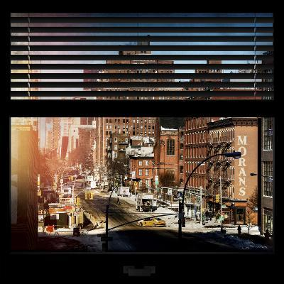 View from the Window - Manhattan Winter-Philippe Hugonnard-Photographic Print