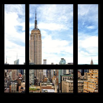 View from the Window - Manhattan-Philippe Hugonnard-Photographic Print