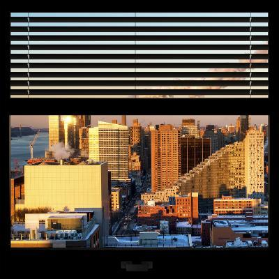 View from the Window - Midtown Manhattan at Sunset-Philippe Hugonnard-Photographic Print