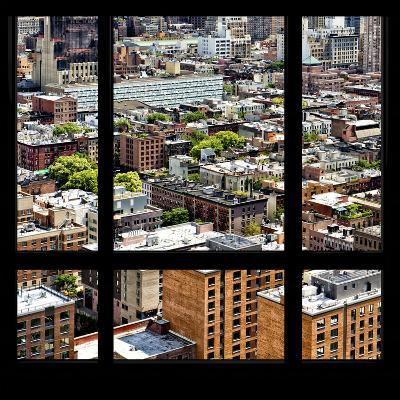 View from the Window - Midtown Manhattan-Philippe Hugonnard-Photographic Print