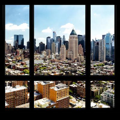 View from the Window - Midtown Manhattan-Philippe Hugonnard-Photographic Print