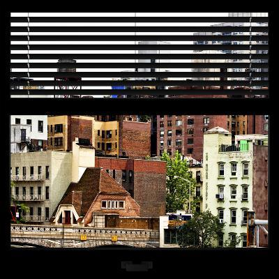 View from the Window - New York Architecture-Philippe Hugonnard-Photographic Print