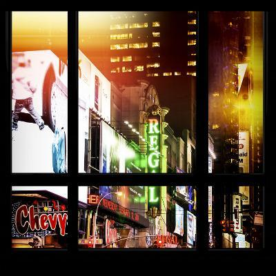 View from the Window - New York City Light-Philippe Hugonnard-Photographic Print
