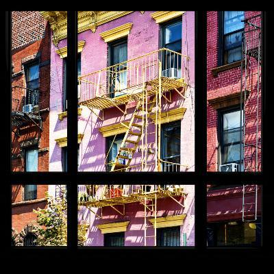 View from the Window - New York Facade Colors-Philippe Hugonnard-Photographic Print