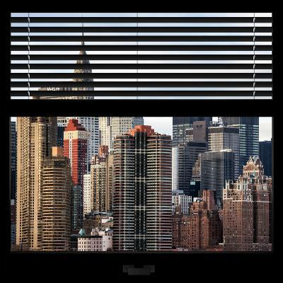 View from the Window - New York Skyline-Philippe Hugonnard-Photographic Print