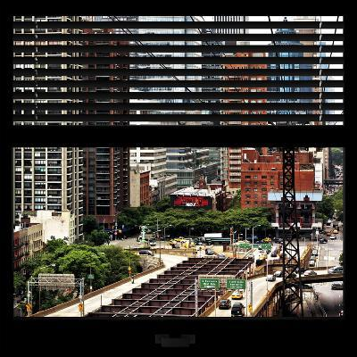 View from the Window - New York Traffic-Philippe Hugonnard-Photographic Print