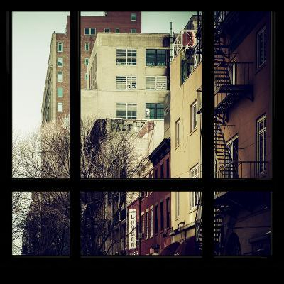 View from the Window - New York Winter-Philippe Hugonnard-Photographic Print