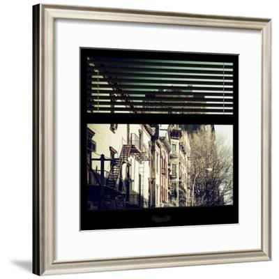 View from the Window - New York Winter-Philippe Hugonnard-Framed Photographic Print