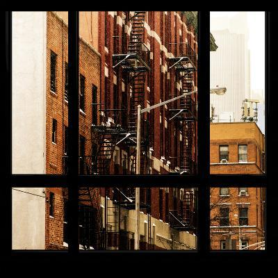View from the Window - NYC Architecture-Philippe Hugonnard-Photographic Print