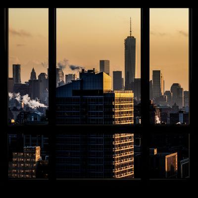 View from the Window - One World Trade Center at Sunset-Philippe Hugonnard-Photographic Print