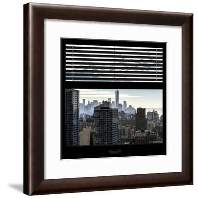 View from the Window - One World Trade Center-Philippe Hugonnard-Framed Photographic Print