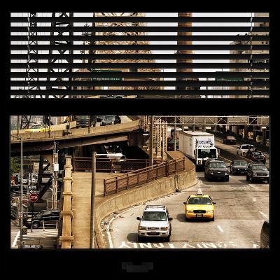 View from the Window - Queensboro Bridge Traffic-Philippe Hugonnard-Photographic Print