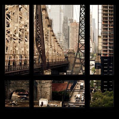 View from the Window - Queensboro Bridge-Philippe Hugonnard-Photographic Print