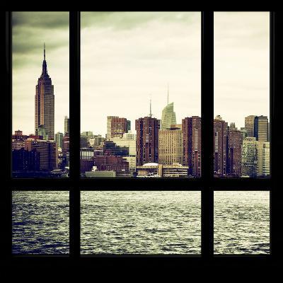 View from the Window - Skyline - Manhattan-Philippe Hugonnard-Photographic Print