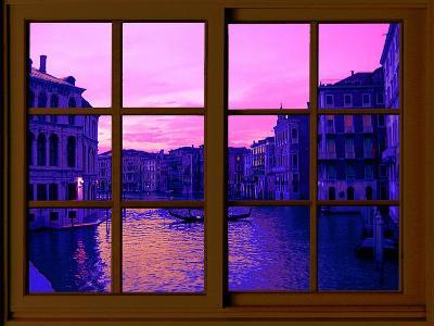 View from the Window the Grand Canal at Venice-Anna Siena-Giclee Print