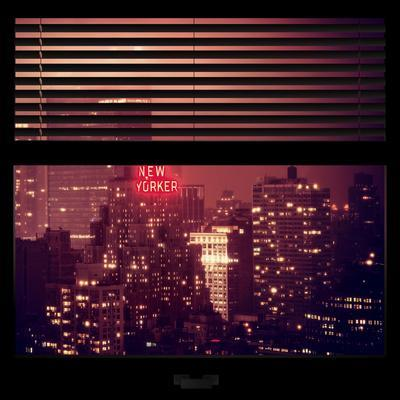 View from the Window - The New Yorker-Philippe Hugonnard-Photographic Print