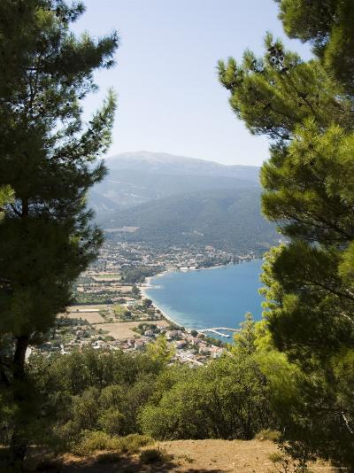 View from Top of Hill Near Sami, Kefalonia (Cephalonia), Ionian Islands, Greece-R H Productions-Photographic Print