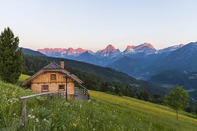 View from Vorderstoder to Totes Gebirge, Region Pyhrn-Priel, Upper Austria, Austria-Gerhard Wild-Photographic Print