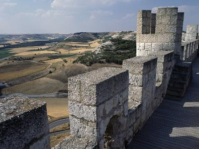 View from Walls of Penafiel Castle--Giclee Print