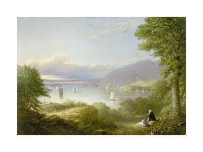 View from West Point-Robert Walter zugeschr Weir-Giclee Print
