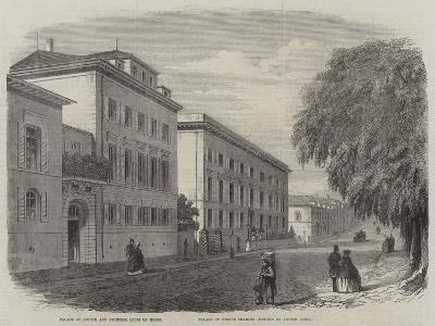 View in Darmstadt--Giclee Print