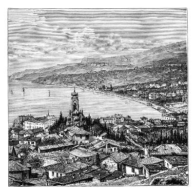 View in the Crimea: Yalta, C1888--Giclee Print
