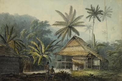 View in the Island of Crakatoa-John Webber-Giclee Print