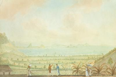 View in the Lesser Antilles, C.1785-Nicholas Pocock-Giclee Print