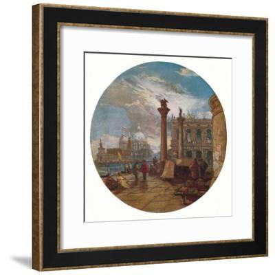'View in Venice', c1853-James Holland-Framed Giclee Print