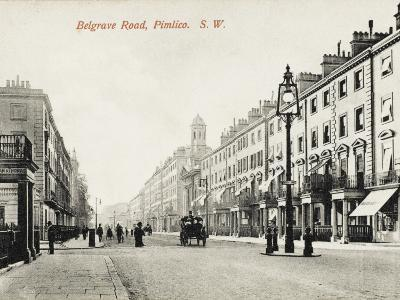 View Looking Down Belgrave Road, Pimlico, London--Photographic Print