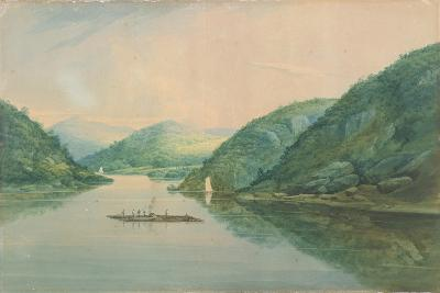 View Near Fort Montgomery, New York, 1820-William Guy Wall-Giclee Print