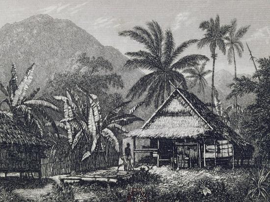 View Near Matavai Bay, Otaheite-John Webber-Giclee Print