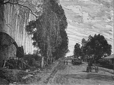 'View near Pretoria', c1880-Unknown-Framed Giclee Print