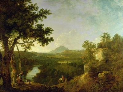 View Near Wynnstay, the Seat of Sir Watkin Williams-Wynn, 1770-71-Richard Wilson-Giclee Print
