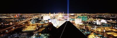 View of a City from Mandalay Bay Resort and Casino, Las Vegas, Clark County, Nevada, USA--Photographic Print