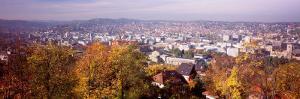 View of a City, Stuttgart, Baden-Wurttemberg, Germany