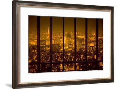 View of a Night City-conrado-Framed Photographic Print