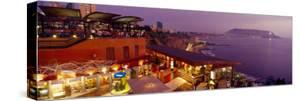 View of a Restaurant, Miraflores District, Lima Province, Peru