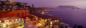 View of a Restaurant, Miraflores District, Lima Province, Peru
