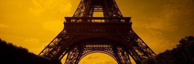 View of a Tower, Eiffel Tower, Champ De Mars, Paris, Ile-De-France, France--Photographic Print