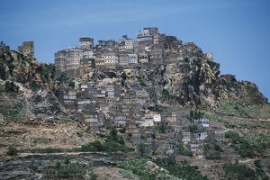 View of Al Hajjarah, Sana'A Governorate, Yemen