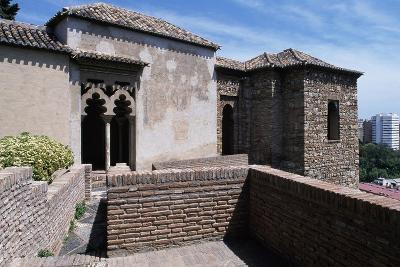 View of Alcazaba of Malaga--Giclee Print