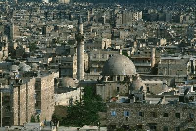 View of Aleppo from the Citadel--Photographic Print