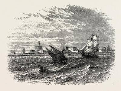 View of Alexandria (From the Sea). Egypt, on the Coast of the Southern Mediterranean--Giclee Print