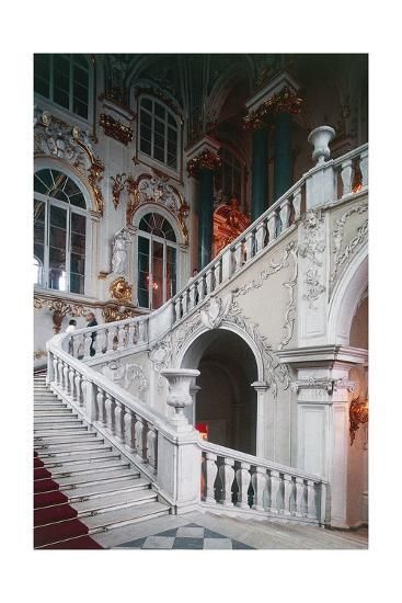 View of Ambassadors' Staircase--Giclee Print