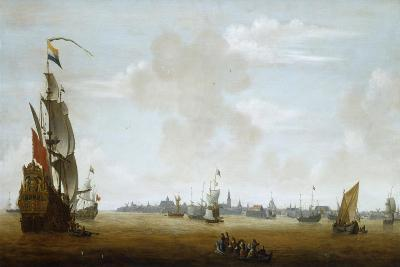 View of Amsterdam from the Sea, 17th Century-Peter van den Velde-Giclee Print