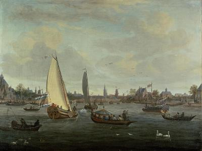 View of Amsterdam Harbour-Abraham Storck-Giclee Print