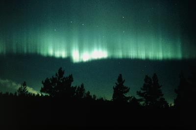 View of An Aurora Borealis Display-Pekka Parviainen-Photographic Print